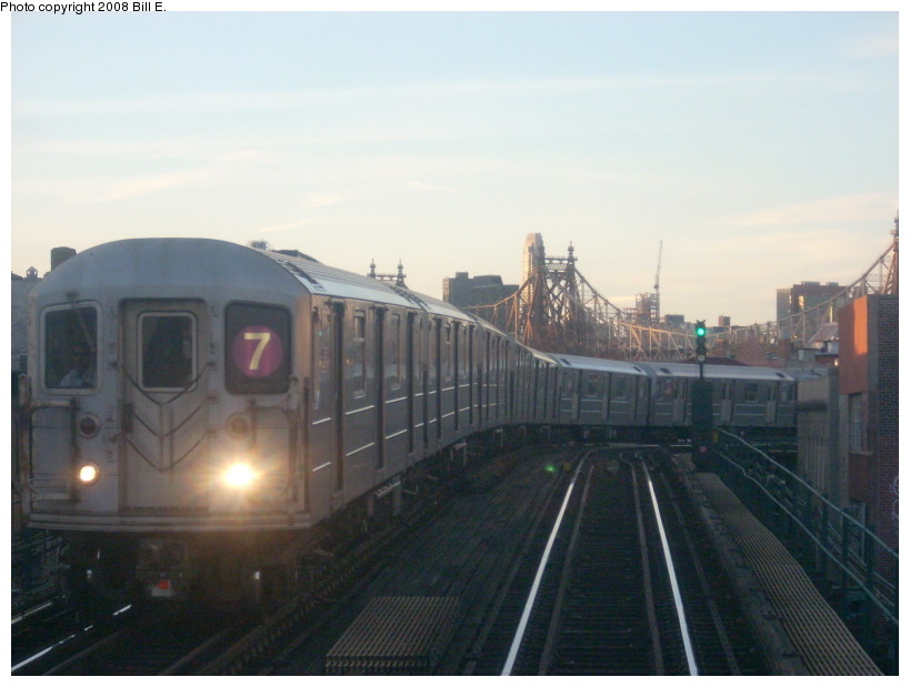 (129k, 819x619)<br><b>Country:</b> United States<br><b>City:</b> New York<br><b>System:</b> New York City Transit<br><b>Line:</b> IRT Flushing Line<br><b>Location:</b> Court House Square/45th Road <br><b>Route:</b> 7<br><b>Car:</b> R-62A (Bombardier, 1984-1987)   <br><b>Photo by:</b> Bill E.<br><b>Date:</b> 3/2/2008<br><b>Viewed (this week/total):</b> 0 / 928