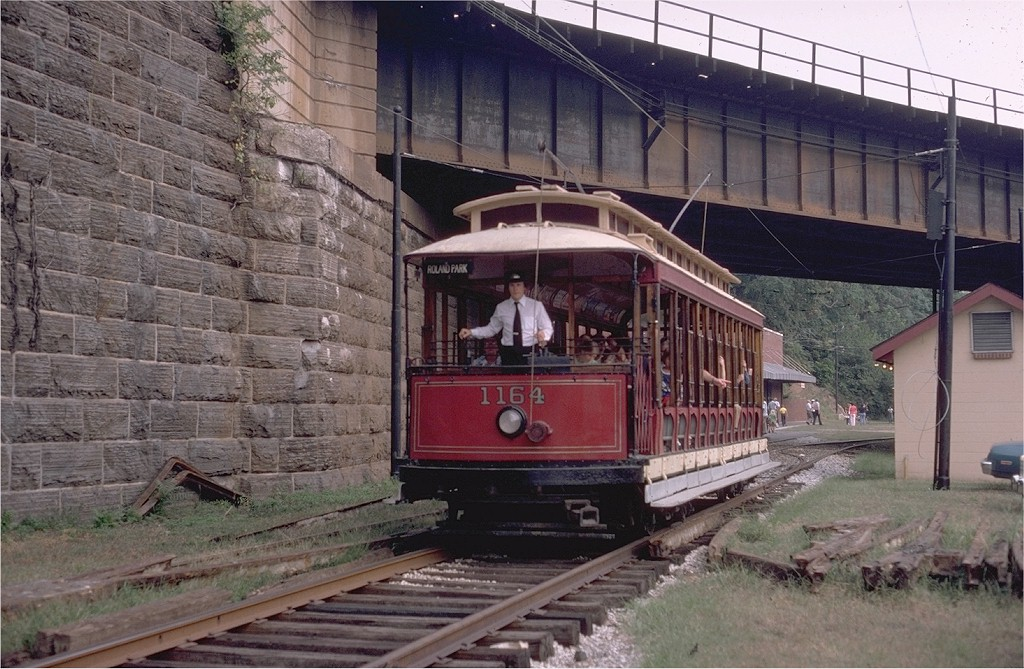 (224k, 1024x669)<br><b>Country:</b> United States<br><b>City:</b> Baltimore, MD<br><b>System:</b> Baltimore Streetcar Museum <br><b>Car:</b>  1164 <br><b>Photo by:</b> Steve Zabel<br><b>Collection of:</b> Joe Testagrose<br><b>Date:</b> 9/14/1980<br><b>Viewed (this week/total):</b> 3 / 494