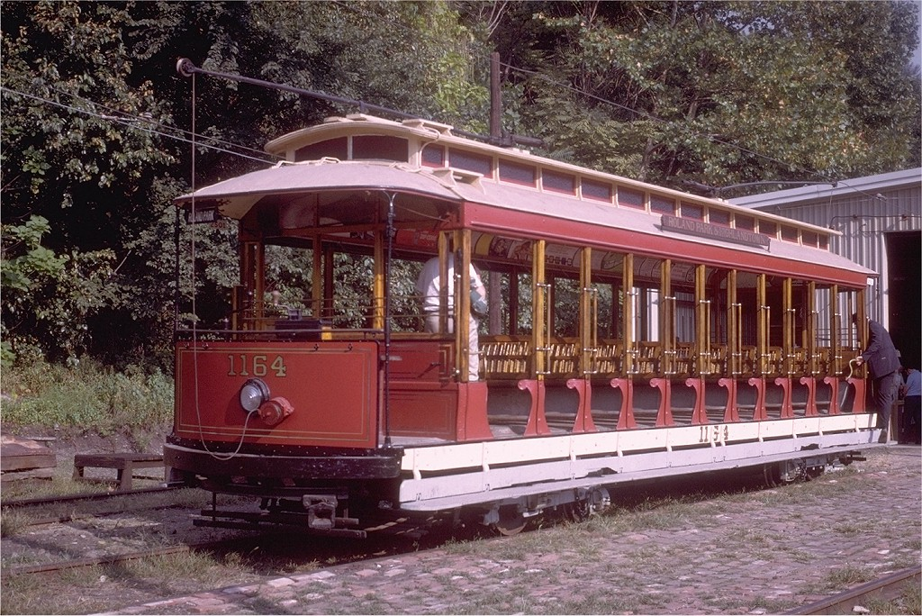 (294k, 1024x684)<br><b>Country:</b> United States<br><b>City:</b> Baltimore, MD<br><b>System:</b> Baltimore Streetcar Museum <br><b>Car:</b>  1164 <br><b>Collection of:</b> Joe Testagrose<br><b>Date:</b> 9/1970<br><b>Viewed (this week/total):</b> 3 / 563
