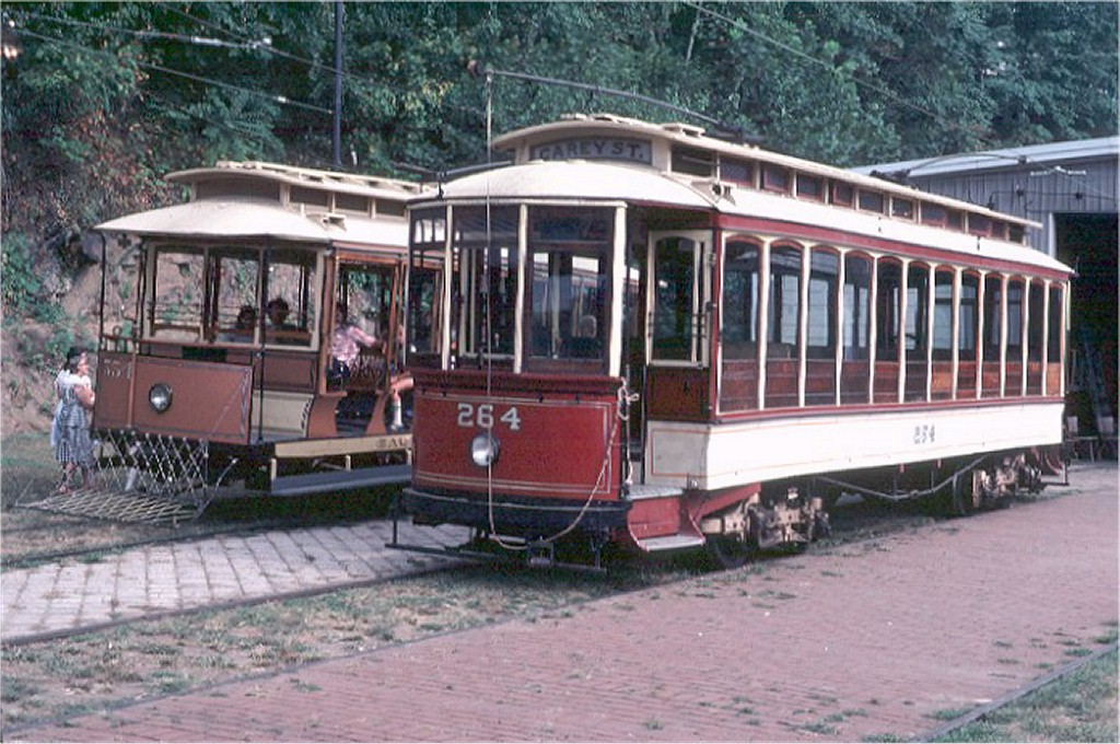 (210k, 1024x680)<br><b>Country:</b> United States<br><b>City:</b> Baltimore, MD<br><b>System:</b> Baltimore Streetcar Museum <br><b>Car:</b>  264 <br><b>Photo by:</b> Steve Zabel<br><b>Collection of:</b> Joe Testagrose<br><b>Date:</b> 9/14/1980<br><b>Viewed (this week/total):</b> 3 / 281