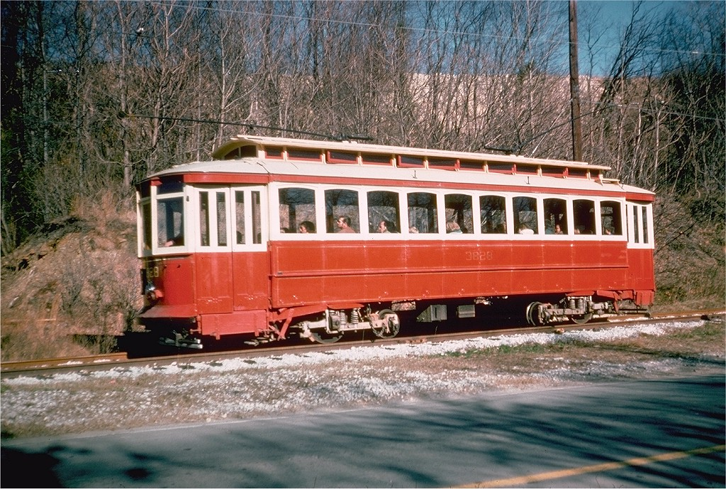 (293k, 1024x690)<br><b>Country:</b> United States<br><b>City:</b> Baltimore, MD<br><b>System:</b> Baltimore Streetcar Museum <br><b>Car:</b>  3828 <br><b>Collection of:</b> Joe Testagrose<br><b>Date:</b> 2/1976<br><b>Viewed (this week/total):</b> 0 / 475