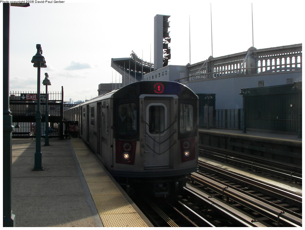 (227k, 1044x788)<br><b>Country:</b> United States<br><b>City:</b> New York<br><b>System:</b> New York City Transit<br><b>Line:</b> IRT Woodlawn Line<br><b>Location:</b> 161st Street/River Avenue (Yankee Stadium) <br><b>Route:</b> 4<br><b>Car:</b> R-142 (Option Order, Bombardier, 2002-2003)  7171 <br><b>Photo by:</b> David-Paul Gerber<br><b>Date:</b> 3/15/2008<br><b>Viewed (this week/total):</b> 1 / 1530