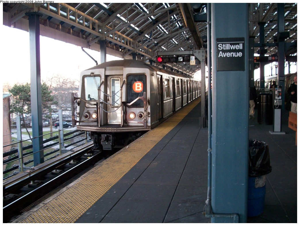 (246k, 1044x788)<br><b>Country:</b> United States<br><b>City:</b> New York<br><b>System:</b> New York City Transit<br><b>Location:</b> Coney Island/Stillwell Avenue<br><b>Route:</b> B<br><b>Car:</b> R-40 (St. Louis, 1968)  4339 <br><b>Photo by:</b> John Barnes<br><b>Date:</b> 3/17/2008<br><b>Viewed (this week/total):</b> 0 / 1809