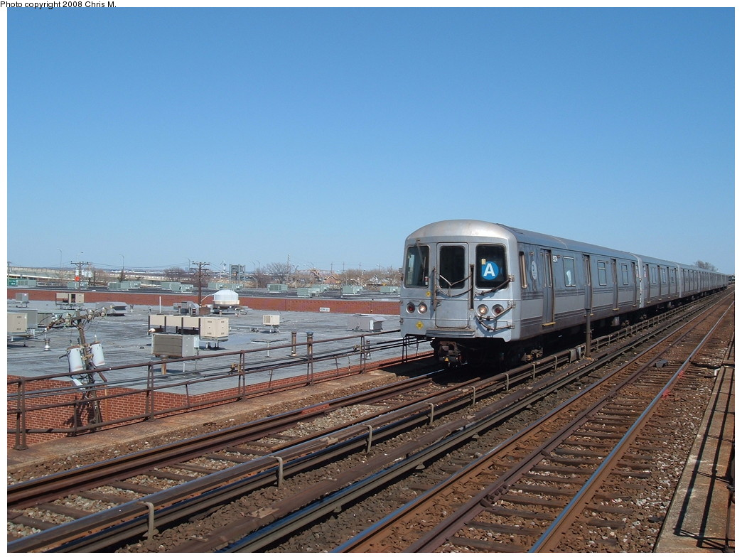 (241k, 1044x788)<br><b>Country:</b> United States<br><b>City:</b> New York<br><b>System:</b> New York City Transit<br><b>Line:</b> IND Rockaway<br><b>Location:</b> Beach 98th Street/Playland <br><b>Route:</b> A<br><b>Car:</b> R-44 (St. Louis, 1971-73) 5274 <br><b>Photo by:</b> Chris M.<br><b>Date:</b> 3/29/2008<br><b>Viewed (this week/total):</b> 0 / 1628