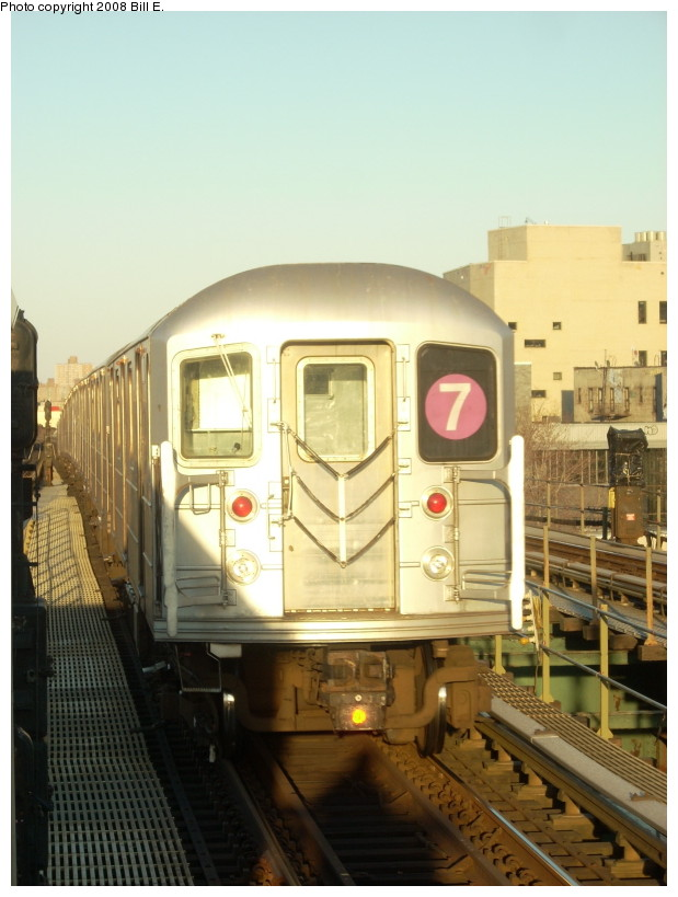 (150k, 619x819)<br><b>Country:</b> United States<br><b>City:</b> New York<br><b>System:</b> New York City Transit<br><b>Line:</b> IRT Flushing Line<br><b>Location:</b> Junction Boulevard <br><b>Route:</b> 7<br><b>Car:</b> R-62A (Bombardier, 1984-1987)   <br><b>Photo by:</b> Bill E.<br><b>Date:</b> 3/29/2008<br><b>Viewed (this week/total):</b> 0 / 698