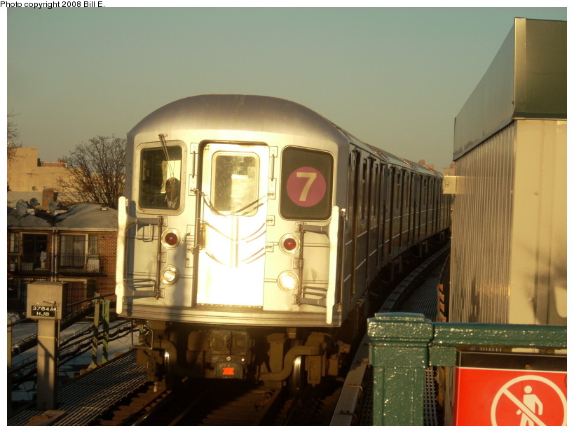 (153k, 819x619)<br><b>Country:</b> United States<br><b>City:</b> New York<br><b>System:</b> New York City Transit<br><b>Line:</b> IRT Flushing Line<br><b>Location:</b> Junction Boulevard <br><b>Route:</b> 7<br><b>Car:</b> R-62A (Bombardier, 1984-1987)   <br><b>Photo by:</b> Bill E.<br><b>Date:</b> 3/29/2008<br><b>Viewed (this week/total):</b> 3 / 821