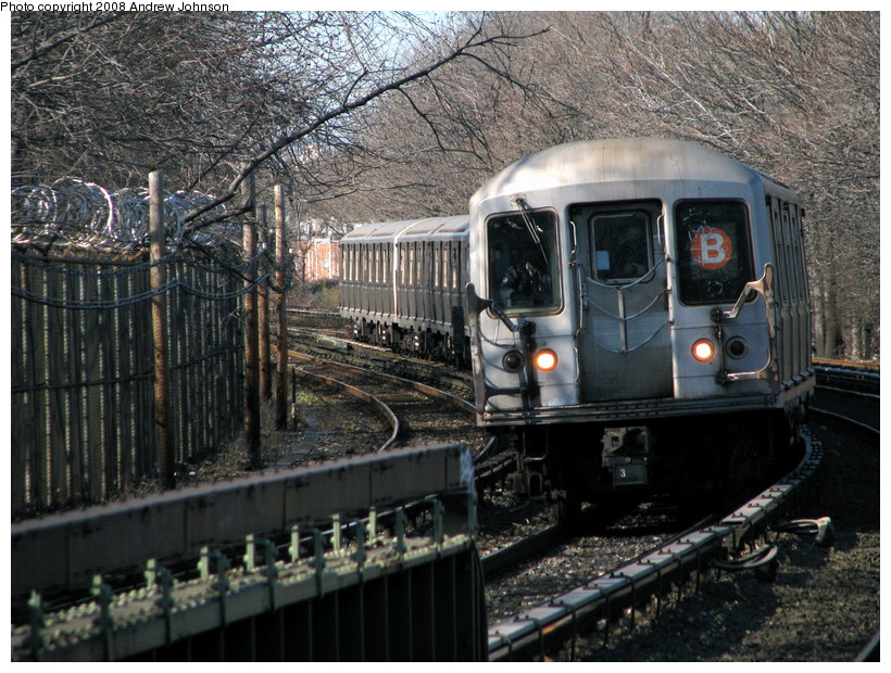 (235k, 820x620)<br><b>Country:</b> United States<br><b>City:</b> New York<br><b>System:</b> New York City Transit<br><b>Line:</b> BMT Brighton Line<br><b>Location:</b> Sheepshead Bay <br><b>Route:</b> B<br><b>Car:</b> R-40M (St. Louis, 1969)  4531 <br><b>Photo by:</b> Andrew Johnson<br><b>Date:</b> 4/2/2008<br><b>Viewed (this week/total):</b> 0 / 1698
