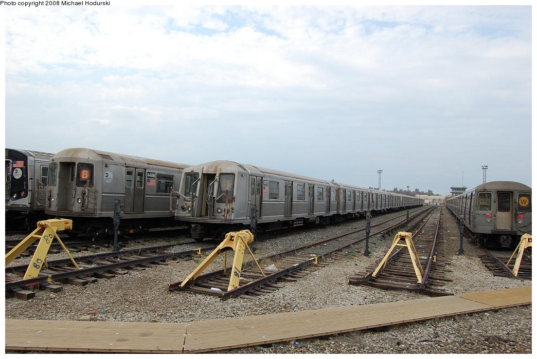(235k, 1044x699)<br><b>Country:</b> United States<br><b>City:</b> New York<br><b>System:</b> New York City Transit<br><b>Location:</b> Coney Island Yard<br><b>Car:</b> R-40 (St. Louis, 1968)  4217 <br><b>Photo by:</b> Michael Hodurski<br><b>Date:</b> 4/12/2008<br><b>Viewed (this week/total):</b> 0 / 862