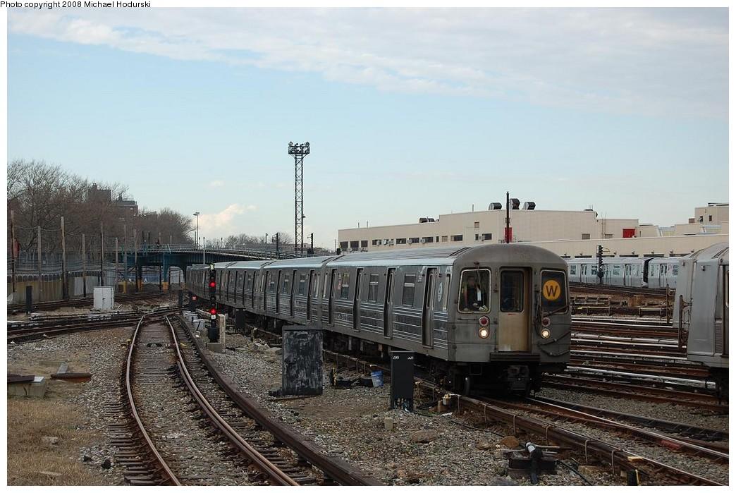 (238k, 1044x699)<br><b>Country:</b> United States<br><b>City:</b> New York<br><b>System:</b> New York City Transit<br><b>Location:</b> Coney Island Yard<br><b>Car:</b> R-68 (Westinghouse-Amrail, 1986-1988)  2896 <br><b>Photo by:</b> Michael Hodurski<br><b>Date:</b> 4/12/2008<br><b>Viewed (this week/total):</b> 2 / 1439