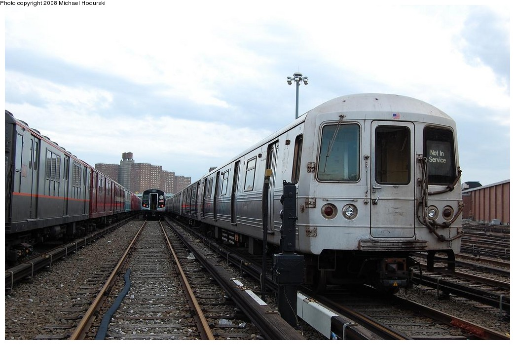 (215k, 1044x699)<br><b>Country:</b> United States<br><b>City:</b> New York<br><b>System:</b> New York City Transit<br><b>Location:</b> Coney Island Yard<br><b>Car:</b> R-46 (Pullman-Standard, 1974-75) 5790 <br><b>Photo by:</b> Michael Hodurski<br><b>Date:</b> 4/12/2008<br><b>Viewed (this week/total):</b> 2 / 1214