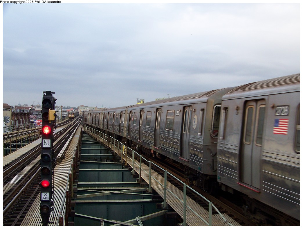 (206k, 1044x788)<br><b>Country:</b> United States<br><b>City:</b> New York<br><b>System:</b> New York City Transit<br><b>Line:</b> BMT West End Line<br><b>Location:</b> 62nd Street <br><b>Route:</b> D<br><b>Car:</b> R-68 (Westinghouse-Amrail, 1986-1988)  2532 <br><b>Photo by:</b> Philip D'Allesandro<br><b>Date:</b> 4/20/2008<br><b>Viewed (this week/total):</b> 0 / 1086