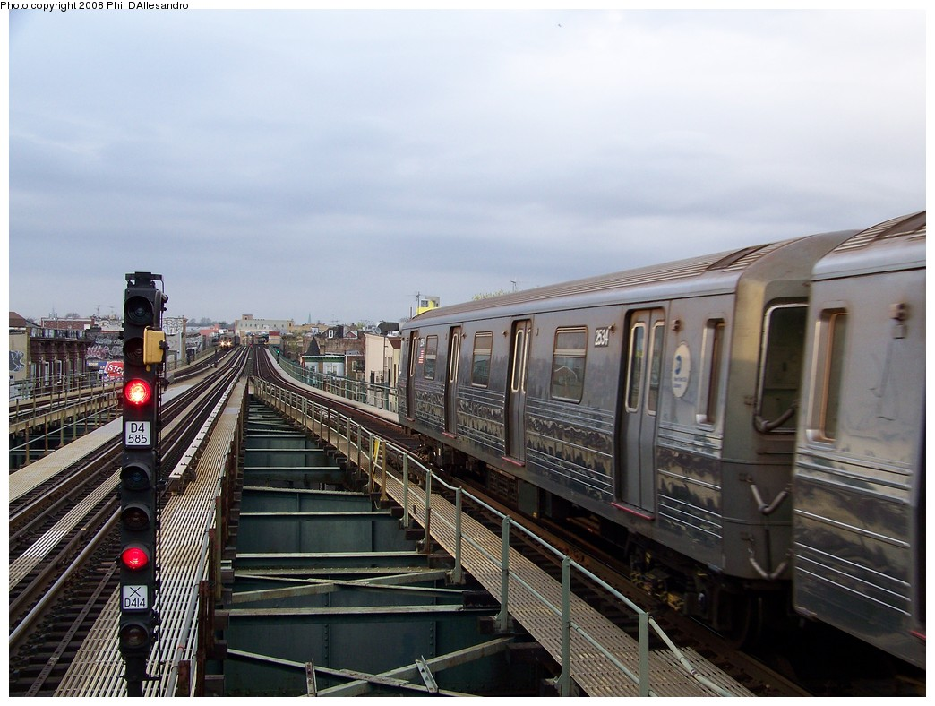 (212k, 1044x788)<br><b>Country:</b> United States<br><b>City:</b> New York<br><b>System:</b> New York City Transit<br><b>Line:</b> BMT West End Line<br><b>Location:</b> 62nd Street <br><b>Route:</b> D<br><b>Car:</b> R-68 (Westinghouse-Amrail, 1986-1988)  2534 <br><b>Photo by:</b> Philip D'Allesandro<br><b>Date:</b> 4/20/2008<br><b>Viewed (this week/total):</b> 2 / 990