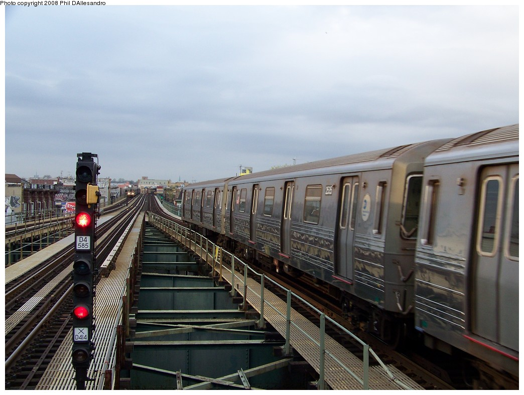 (207k, 1044x788)<br><b>Country:</b> United States<br><b>City:</b> New York<br><b>System:</b> New York City Transit<br><b>Line:</b> BMT West End Line<br><b>Location:</b> 62nd Street <br><b>Route:</b> D<br><b>Car:</b> R-68 (Westinghouse-Amrail, 1986-1988)  2535 <br><b>Photo by:</b> Philip D'Allesandro<br><b>Date:</b> 4/20/2008<br><b>Viewed (this week/total):</b> 2 / 1083