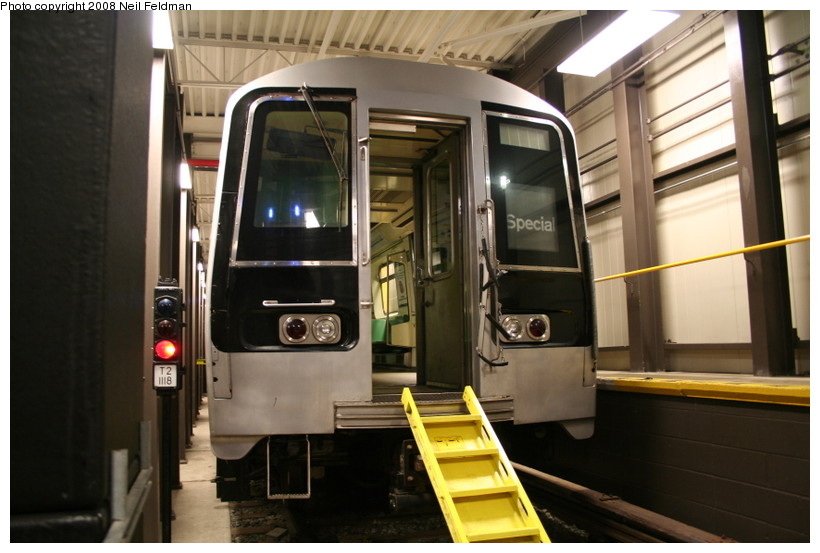 (128k, 820x553)<br><b>Country:</b> United States<br><b>City:</b> New York<br><b>System:</b> New York City Transit<br><b>Location:</b> Coney Island Yard-Training Facilities<br><b>Car:</b> R-110B (Bombardier, 1992) 3006 <br><b>Photo by:</b> Neil Feldman<br><b>Date:</b> 4/12/2008<br><b>Notes:</b> Fire training facility.<br><b>Viewed (this week/total):</b> 0 / 2427