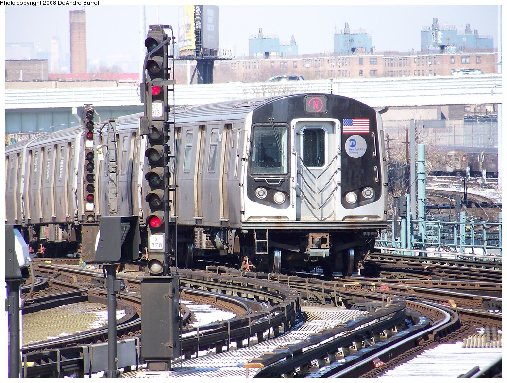 (322k, 1044x788)<br><b>Country:</b> United States<br><b>City:</b> New York<br><b>System:</b> New York City Transit<br><b>Location:</b> Coney Island/Stillwell Avenue<br><b>Route:</b> N<br><b>Car:</b> R-160B (Kawasaki, 2005-2008)  8742 <br><b>Photo by:</b> DeAndre Burrell<br><b>Date:</b> 4/12/2007<br><b>Viewed (this week/total):</b> 2 / 918