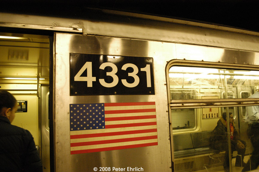 (178k, 864x574)<br><b>Country:</b> United States<br><b>City:</b> New York<br><b>System:</b> New York City Transit<br><b>Line:</b> IND 8th Avenue Line<br><b>Location:</b> 59th Street/Columbus Circle <br><b>Car:</b> R-40 (St. Louis, 1968)  4331 <br><b>Photo by:</b> Peter Ehrlich<br><b>Date:</b> 5/2/2008<br><b>Viewed (this week/total):</b> 1 / 999