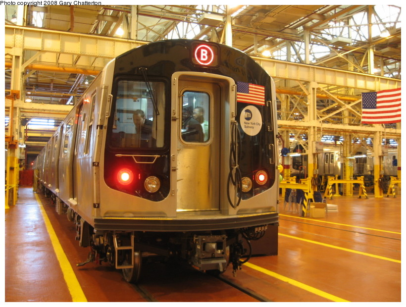 (170k, 820x620)<br><b>Country:</b> United States<br><b>City:</b> New York<br><b>System:</b> New York City Transit<br><b>Location:</b> Coney Island Shop/Overhaul & Repair Shop<br><b>Car:</b> R-160A-1 (Alstom, 2005-2008, 4 car sets)  8480 <br><b>Photo by:</b> Gary Chatterton<br><b>Date:</b> 4/12/2008<br><b>Viewed (this week/total):</b> 2 / 2743