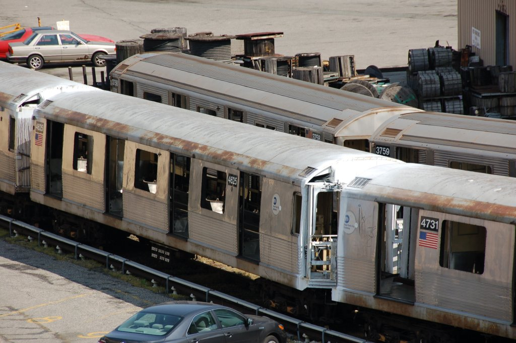 (207k, 1024x680)<br><b>Country:</b> United States<br><b>City:</b> New York<br><b>System:</b> New York City Transit<br><b>Location:</b> 207th Street Yard<br><b>Car:</b> R-42 (St. Louis, 1969-1970)  4625 <br><b>Photo by:</b> Brian Weinberg<br><b>Date:</b> 5/4/2008<br><b>Viewed (this week/total):</b> 1 / 949
