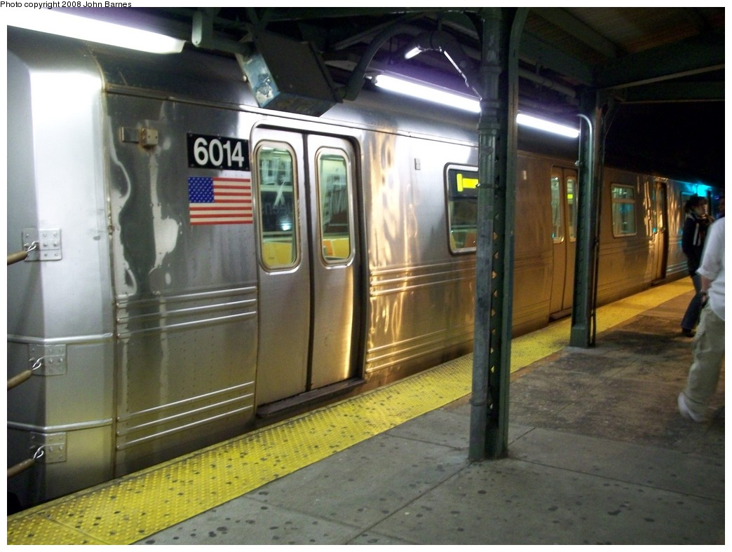 (196k, 1044x788)<br><b>Country:</b> United States<br><b>City:</b> New York<br><b>System:</b> New York City Transit<br><b>Line:</b> BMT Astoria Line<br><b>Location:</b> Queensborough Plaza <br><b>Route:</b> R reroute<br><b>Car:</b> R-46 (Pullman-Standard, 1974-75) 6014 <br><b>Photo by:</b> John Barnes<br><b>Date:</b> 5/11/2008<br><b>Viewed (this week/total):</b> 1 / 1718