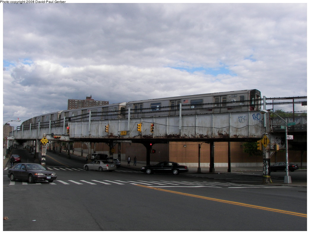 (221k, 1044x788)<br><b>Country:</b> United States<br><b>City:</b> New York<br><b>System:</b> New York City Transit<br><b>Location:</b> 149th & Bergen Portal (2/5 Lines)<br><b>Car:</b> R-142 (Primary Order, Bombardier, 1999-2002)  6515 <br><b>Photo by:</b> David-Paul Gerber<br><b>Date:</b> 5/24/2008<br><b>Viewed (this week/total):</b> 1 / 2231