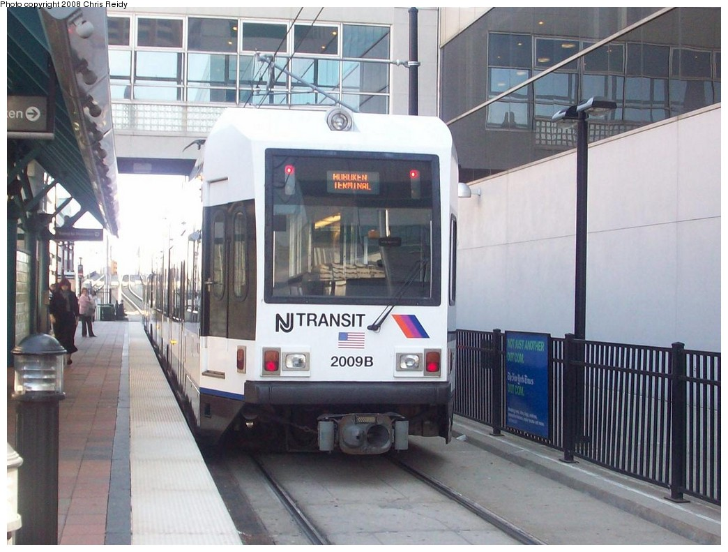 (207k, 1044x791)<br><b>Country:</b> United States<br><b>City:</b> Jersey City, NJ<br><b>System:</b> Hudson Bergen Light Rail<br><b>Location:</b> Pavonia/Newport <br><b>Car:</b> NJT-HBLR LRV (Kinki-Sharyo, 1998-99)  2009 <br><b>Photo by:</b> Chris Reidy<br><b>Date:</b> 5/11/2008<br><b>Viewed (this week/total):</b> 2 / 586