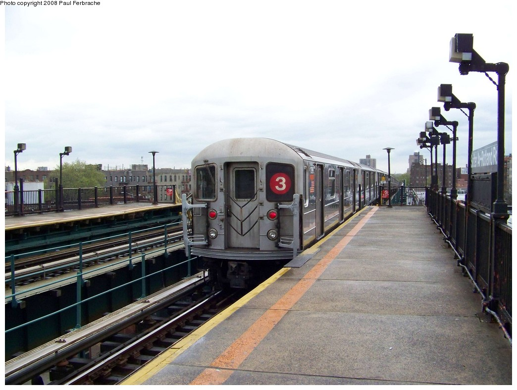 (212k, 1044x788)<br><b>Country:</b> United States<br><b>City:</b> New York<br><b>System:</b> New York City Transit<br><b>Line:</b> IRT Brooklyn Line<br><b>Location:</b> Sutter Avenue/Rutland Road <br><b>Route:</b> 3<br><b>Car:</b> R-62 (Kawasaki, 1983-1985)  1386 <br><b>Photo by:</b> Paul Ferbrache<br><b>Date:</b> 4/29/2008<br><b>Viewed (this week/total):</b> 0 / 1226