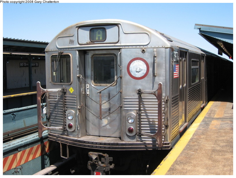 (142k, 820x620)<br><b>Country:</b> United States<br><b>City:</b> New York<br><b>System:</b> New York City Transit<br><b>Line:</b> IND Fulton Street Line<br><b>Location:</b> 80th Street/Hudson Street <br><b>Route:</b> A<br><b>Car:</b> R-38 (St. Louis, 1966-1967)  3974 <br><b>Photo by:</b> Gary Chatterton<br><b>Date:</b> 5/28/2008<br><b>Viewed (this week/total):</b> 0 / 1313