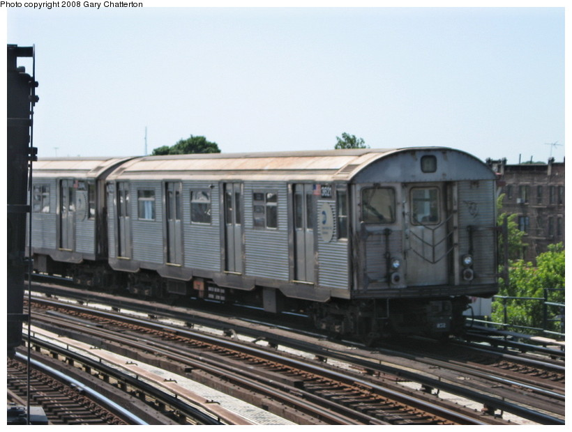 (123k, 820x620)<br><b>Country:</b> United States<br><b>City:</b> New York<br><b>System:</b> New York City Transit<br><b>Line:</b> IND Fulton Street Line<br><b>Location:</b> 80th Street/Hudson Street <br><b>Route:</b> A<br><b>Car:</b> R-32 (Budd, 1964)  3621 <br><b>Photo by:</b> Gary Chatterton<br><b>Date:</b> 5/28/2008<br><b>Viewed (this week/total):</b> 1 / 919