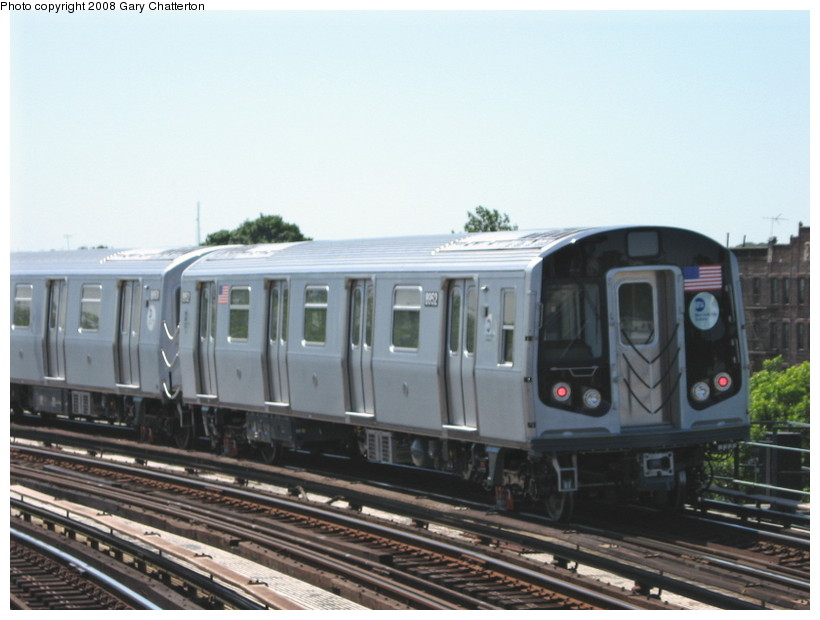 (113k, 820x620)<br><b>Country:</b> United States<br><b>City:</b> New York<br><b>System:</b> New York City Transit<br><b>Line:</b> IND Fulton Street Line<br><b>Location:</b> 80th Street/Hudson Street <br><b>Route:</b> Testing<br><b>Car:</b> R-160B (Kawasaki, 2005-2008)  8952 <br><b>Photo by:</b> Gary Chatterton<br><b>Date:</b> 5/28/2008<br><b>Viewed (this week/total):</b> 0 / 1753