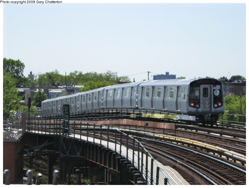 (125k, 820x620)<br><b>Country:</b> United States<br><b>City:</b> New York<br><b>System:</b> New York City Transit<br><b>Line:</b> IND Fulton Street Line<br><b>Location:</b> 80th Street/Hudson Street <br><b>Route:</b> Testing<br><b>Car:</b> R-160B (Kawasaki, 2005-2008)  8952 <br><b>Photo by:</b> Gary Chatterton<br><b>Date:</b> 5/28/2008<br><b>Viewed (this week/total):</b> 6 / 1534
