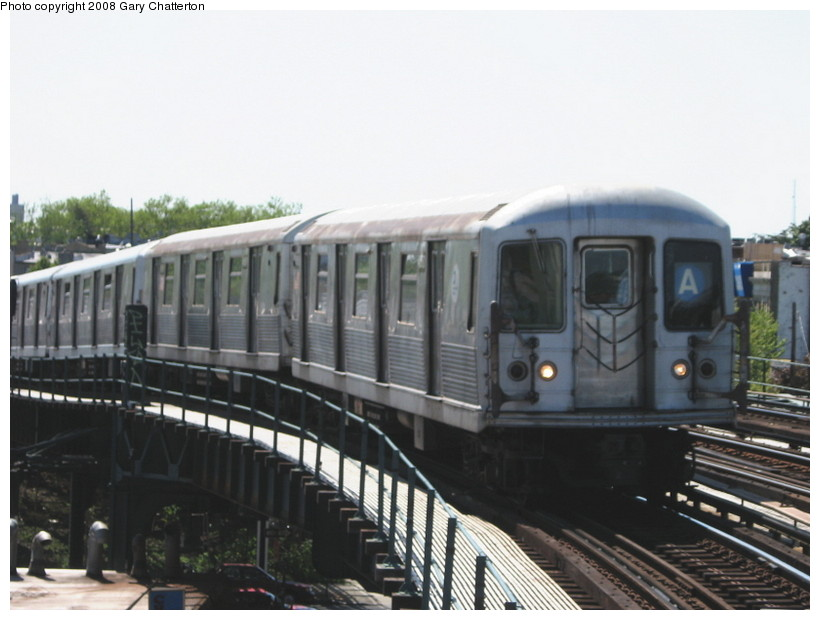(109k, 820x620)<br><b>Country:</b> United States<br><b>City:</b> New York<br><b>System:</b> New York City Transit<br><b>Line:</b> IND Fulton Street Line<br><b>Location:</b> 80th Street/Hudson Street <br><b>Route:</b> A<br><b>Car:</b> R-42 (St. Louis, 1969-1970)  4560 <br><b>Photo by:</b> Gary Chatterton<br><b>Date:</b> 5/28/2008<br><b>Viewed (this week/total):</b> 16 / 1435
