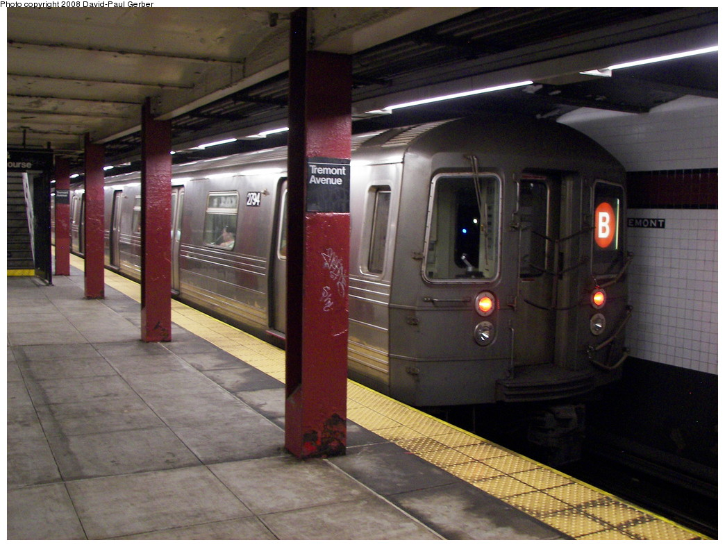 (278k, 1044x788)<br><b>Country:</b> United States<br><b>City:</b> New York<br><b>System:</b> New York City Transit<br><b>Line:</b> IND Concourse Line<br><b>Location:</b> Tremont Avenue <br><b>Route:</b> B<br><b>Car:</b> R-68 (Westinghouse-Amrail, 1986-1988)  2794 <br><b>Photo by:</b> David-Paul Gerber<br><b>Date:</b> 6/9/2008<br><b>Viewed (this week/total):</b> 0 / 2460