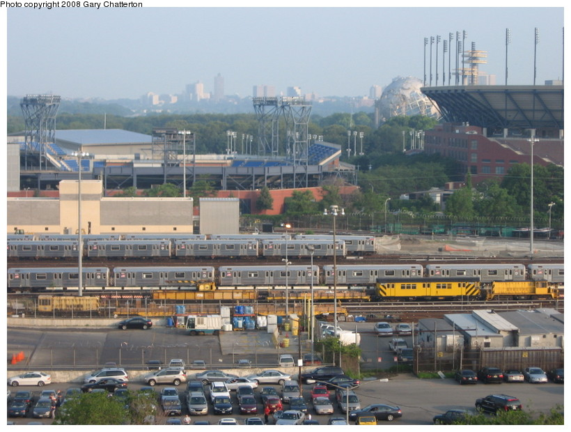 (154k, 820x620)<br><b>Country:</b> United States<br><b>City:</b> New York<br><b>System:</b> New York City Transit<br><b>Location:</b> Corona Yard<br><b>Photo by:</b> Gary Chatterton<br><b>Date:</b> 6/23/2008<br><b>Viewed (this week/total):</b> 1 / 1186