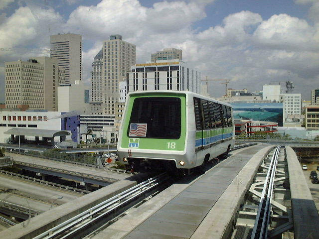 (84k, 640x480)<br><b>Country:</b> United States<br><b>City:</b> Miami, FL<br><b>System:</b> Miami Metromover<br><b>Location:</b> Riverwalk <br><b>Car:</b>  18 <br><b>Photo by:</b> Brian J. Cudahy<br><b>Date:</b> 2003<br><b>Viewed (this week/total):</b> 0 / 998