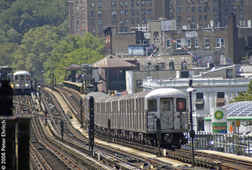 (244k, 864x584)<br><b>Country:</b> United States<br><b>City:</b> New York<br><b>System:</b> New York City Transit<br><b>Line:</b> IRT West Side Line<br><b>Location:</b> 207th Street <br><b>Car:</b> R-62A (Bombardier, 1984-1987)  2260 <br><b>Photo by:</b> Peter Ehrlich<br><b>Date:</b> 7/15/2008<br><b>Viewed (this week/total):</b> 1 / 1534