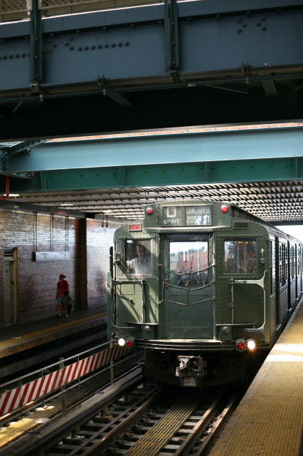 (98k, 426x640)<br><b>Country:</b> United States<br><b>City:</b> New York<br><b>System:</b> New York City Transit<br><b>Location:</b> Coney Island/Stillwell Avenue<br><b>Route:</b> Transit Museum Nostalgia Train<br><b>Car:</b> R-4 (American Car & Foundry, 1932-1933) 484 <br><b>Photo by:</b> Kieran J. O'Hagan<br><b>Date:</b> 7/13/2008<br><b>Viewed (this week/total):</b> 0 / 992