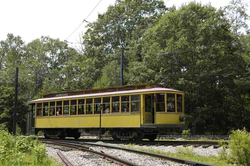 (90k, 864x574)<br><b>Country:</b> United States<br><b>City:</b> Kennebunk, ME<br><b>System:</b> Seashore Trolley Museum <br><b>Car:</b> Twin City Rapid Transit 1267 <br><b>Photo by:</b> Peter Ehrlich<br><b>Date:</b> 7/18/2008<br><b>Notes:</b> Twin City Rapid Transit 1267.  At Talbot Park.<br><b>Viewed (this week/total):</b> 1 / 386