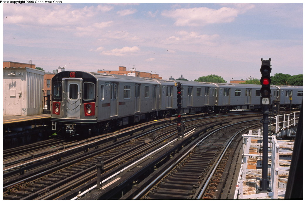 (195k, 1044x694)<br><b>Country:</b> United States<br><b>City:</b> New York<br><b>System:</b> New York City Transit<br><b>Line:</b> IRT White Plains Road Line<br><b>Location:</b> West Farms Sq./East Tremont Ave./177th St. <br><b>Route:</b> 2<br><b>Car:</b> R-142 (Primary Order, Bombardier, 1999-2002)  6580 <br><b>Photo by:</b> Chao-Hwa Chen<br><b>Date:</b> 7/3/2001<br><b>Viewed (this week/total):</b> 1 / 1402