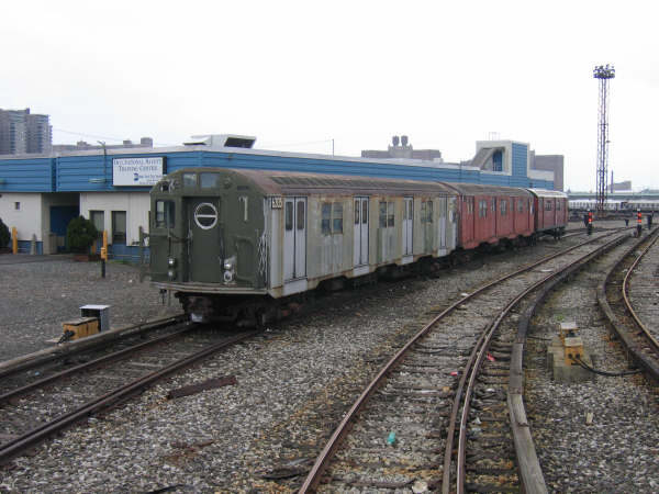 (44k, 600x450)<br><b>Country:</b> United States<br><b>City:</b> New York<br><b>System:</b> New York City Transit<br><b>Location:</b> Coney Island Yard<br><b>Car:</b> R-16 (American Car & Foundry, 1955) 6305 <br><b>Photo by:</b> Professor J<br><b>Date:</b> 4/12/2008<br><b>Viewed (this week/total):</b> 3 / 1409