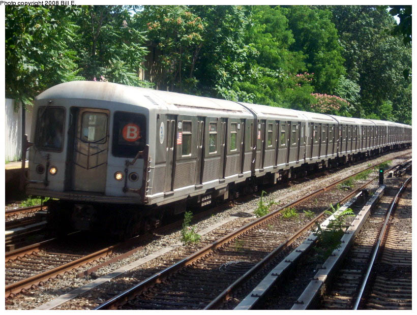 (174k, 820x620)<br><b>Country:</b> United States<br><b>City:</b> New York<br><b>System:</b> New York City Transit<br><b>Line:</b> BMT Brighton Line<br><b>Location:</b> Avenue H <br><b>Route:</b> B<br><b>Car:</b> R-40M (St. Louis, 1969)  4501 <br><b>Photo by:</b> Bill E.<br><b>Date:</b> 7/25/2008<br><b>Viewed (this week/total):</b> 0 / 1030