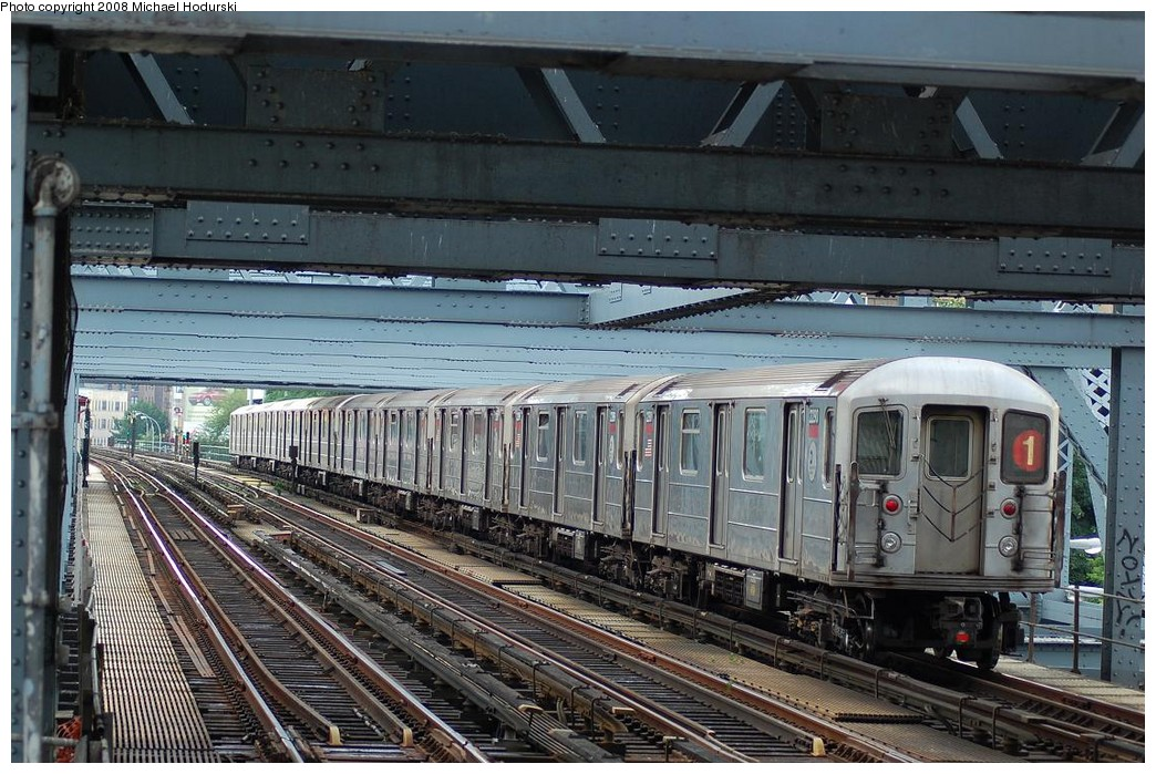 (273k, 1044x699)<br><b>Country:</b> United States<br><b>City:</b> New York<br><b>System:</b> New York City Transit<br><b>Line:</b> IRT West Side Line<br><b>Location:</b> Broadway Bridge <br><b>Route:</b> 1<br><b>Car:</b> R-62A (Bombardier, 1984-1987)  2290 <br><b>Photo by:</b> Michael Hodurski<br><b>Date:</b> 6/24/2008<br><b>Viewed (this week/total):</b> 1 / 1274