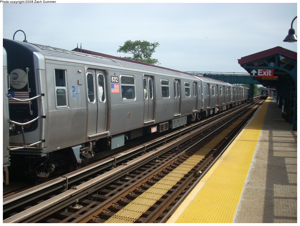 (249k, 1044x788)<br><b>Country:</b> United States<br><b>City:</b> New York<br><b>System:</b> New York City Transit<br><b>Line:</b> BMT Canarsie Line<br><b>Location:</b> Livonia Avenue <br><b>Route:</b> L<br><b>Car:</b> R-143 (Kawasaki, 2001-2002) 8312 <br><b>Photo by:</b> Zach Summer<br><b>Date:</b> 7/10/2008<br><b>Viewed (this week/total):</b> 1 / 927