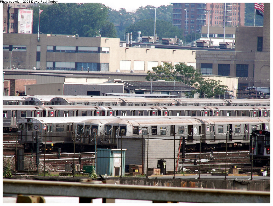 (341k, 1044x788)<br><b>Country:</b> United States<br><b>City:</b> New York<br><b>System:</b> New York City Transit<br><b>Location:</b> 207th Street Yard<br><b>Car:</b> R-40 (St. Louis, 1968)  4157 <br><b>Photo by:</b> David-Paul Gerber<br><b>Date:</b> 7/19/2008<br><b>Viewed (this week/total):</b> 1 / 905