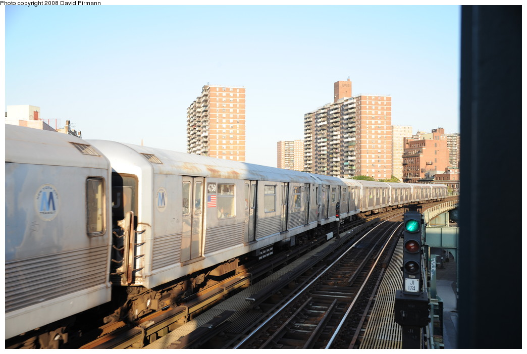 (235k, 1044x701)<br><b>Country:</b> United States<br><b>City:</b> New York<br><b>System:</b> New York City Transit<br><b>Line:</b> BMT Nassau Street/Jamaica Line<br><b>Location:</b> Hewes Street <br><b>Route:</b> J<br><b>Car:</b> R-42 (St. Louis, 1969-1970)  4759 <br><b>Photo by:</b> David Pirmann<br><b>Date:</b> 8/21/2008<br><b>Viewed (this week/total):</b> 2 / 698