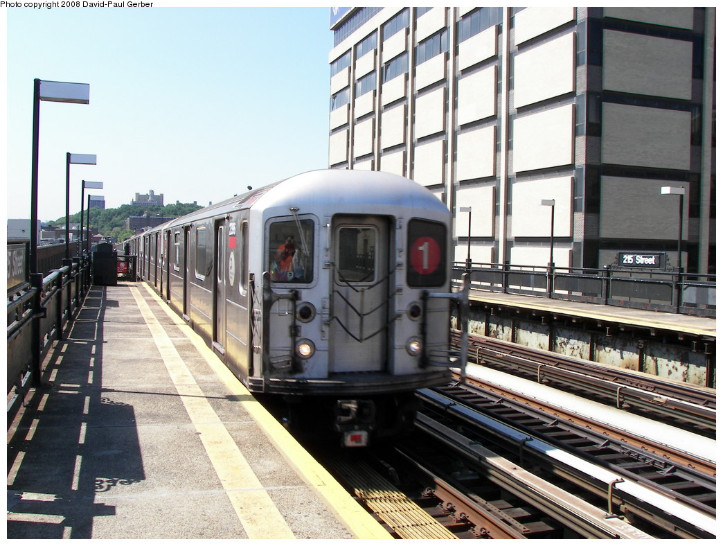 (297k, 1044x788)<br><b>Country:</b> United States<br><b>City:</b> New York<br><b>System:</b> New York City Transit<br><b>Line:</b> IRT West Side Line<br><b>Location:</b> 215th Street <br><b>Route:</b> 1<br><b>Car:</b> R-62A (Bombardier, 1984-1987)  2396 <br><b>Photo by:</b> David-Paul Gerber<br><b>Date:</b> 8/21/2008<br><b>Viewed (this week/total):</b> 3 / 1330