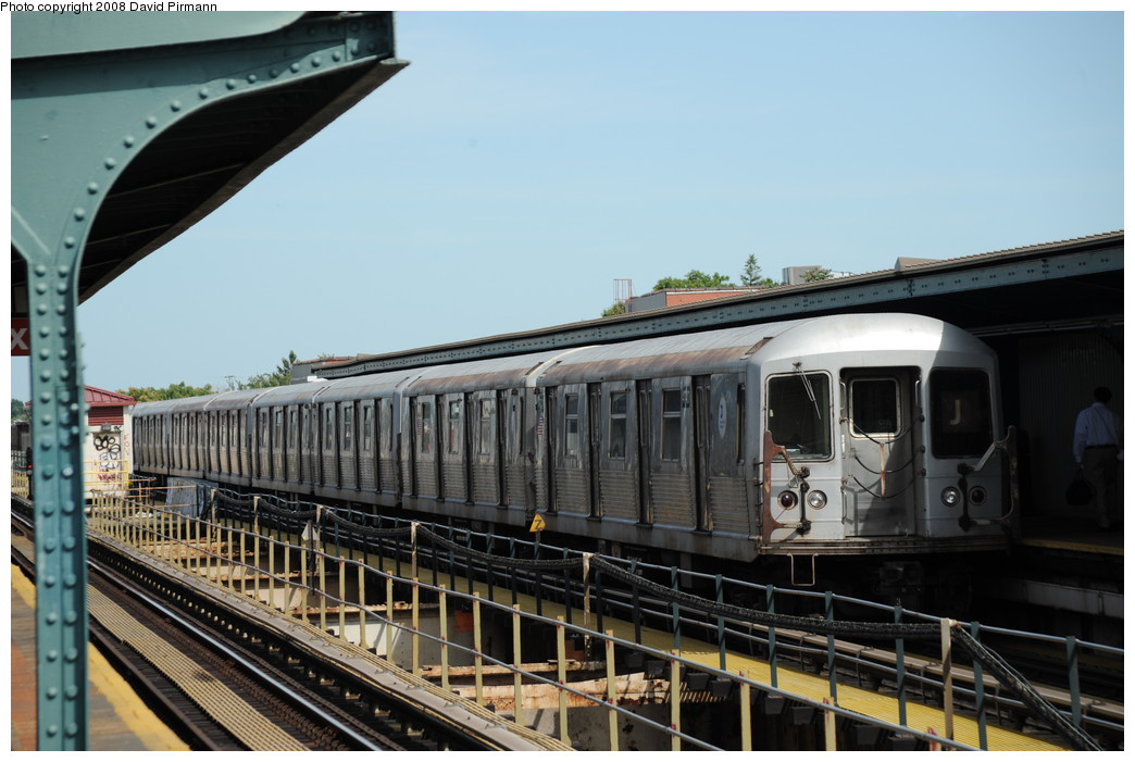 (238k, 1044x701)<br><b>Country:</b> United States<br><b>City:</b> New York<br><b>System:</b> New York City Transit<br><b>Line:</b> BMT Nassau Street/Jamaica Line<br><b>Location:</b> 75th Street/Elderts Lane <br><b>Route:</b> J<br><b>Car:</b> R-42 (St. Louis, 1969-1970)  4740 <br><b>Photo by:</b> David Pirmann<br><b>Date:</b> 8/27/2008<br><b>Viewed (this week/total):</b> 1 / 668