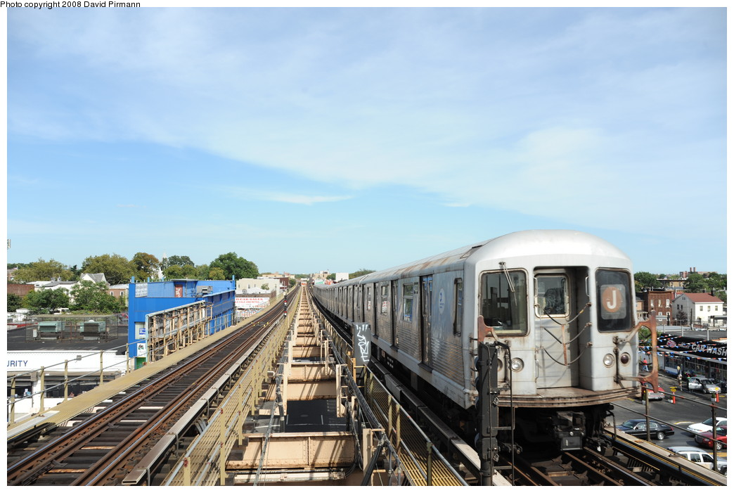 (251k, 1044x701)<br><b>Country:</b> United States<br><b>City:</b> New York<br><b>System:</b> New York City Transit<br><b>Line:</b> BMT Nassau Street/Jamaica Line<br><b>Location:</b> Alabama Avenue <br><b>Route:</b> J<br><b>Car:</b> R-42 (St. Louis, 1969-1970)  4820 <br><b>Photo by:</b> David Pirmann<br><b>Date:</b> 8/27/2008<br><b>Viewed (this week/total):</b> 1 / 973