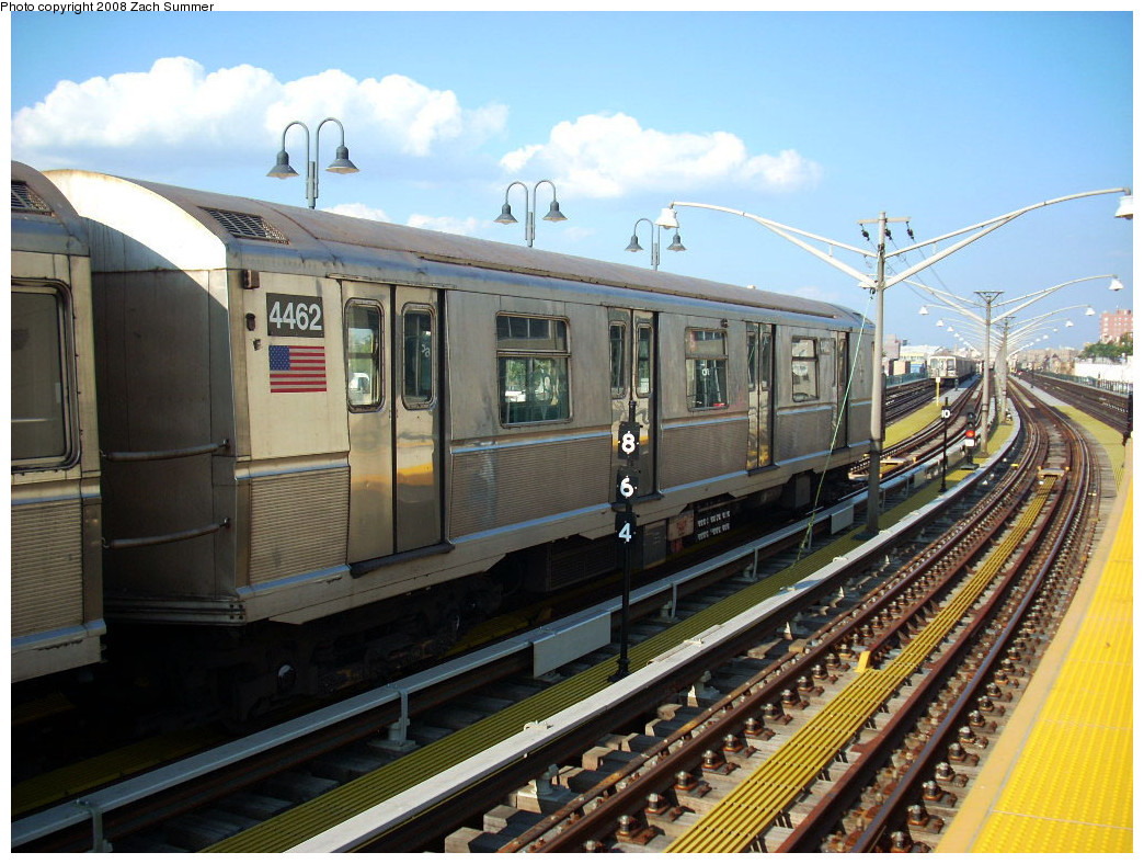 (302k, 1044x788)<br><b>Country:</b> United States<br><b>City:</b> New York<br><b>System:</b> New York City Transit<br><b>Line:</b> BMT Brighton Line<br><b>Location:</b> Ocean Parkway <br><b>Route:</b> B yard move<br><b>Car:</b> R-40M (St. Louis, 1969)  4462 <br><b>Photo by:</b> Zach Summer<br><b>Date:</b> 7/21/2008<br><b>Viewed (this week/total):</b> 8 / 656