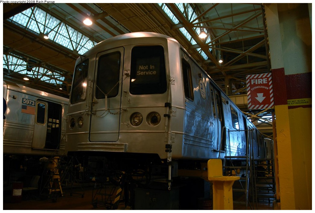 (174k, 1044x706)<br><b>Country:</b> United States<br><b>City:</b> New York<br><b>System:</b> New York City Transit<br><b>Location:</b> Coney Island Shop/Overhaul & Repair Shop<br><b>Car:</b> R-46 (Pullman-Standard, 1974-75) 5972 <br><b>Photo by:</b> Richard Panse<br><b>Date:</b> 9/13/2008<br><b>Viewed (this week/total):</b> 3 / 906