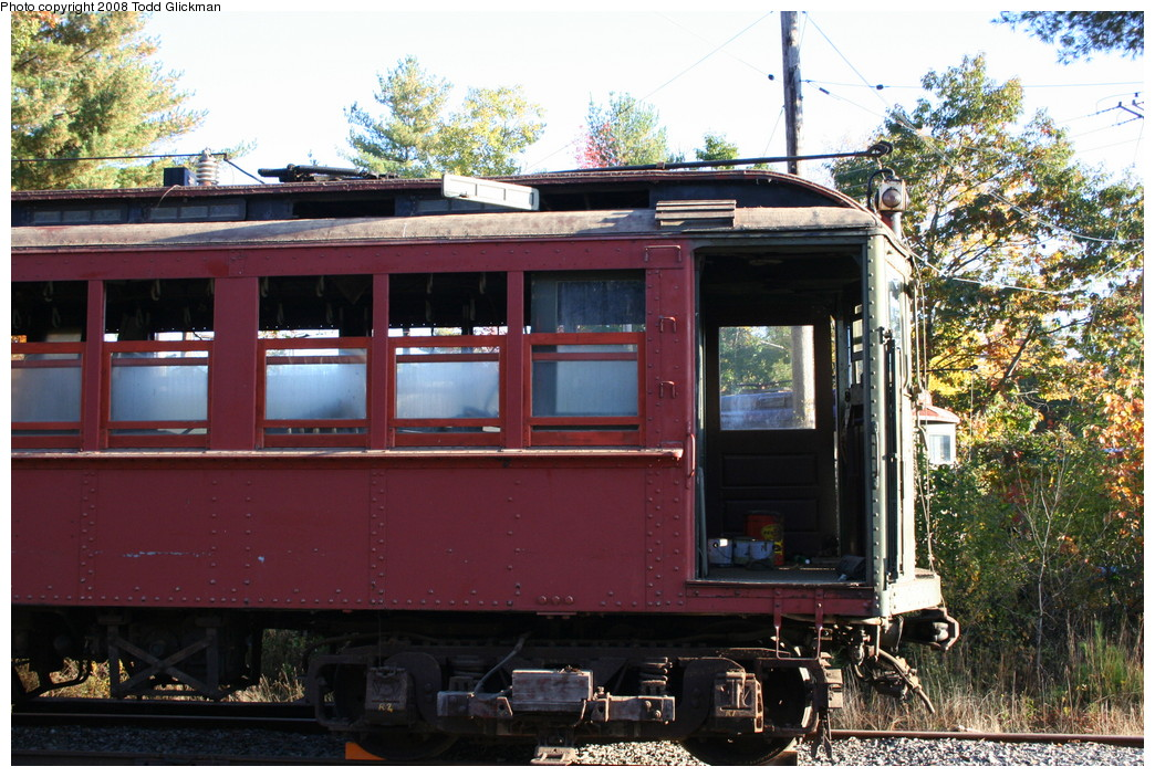 (274k, 1044x703)<br><b>Country:</b> United States<br><b>City:</b> Kennebunk, ME<br><b>System:</b> Seashore Trolley Museum <br><b>Car:</b> Hi-V 3352 <br><b>Photo by:</b> Todd Glickman<br><b>Date:</b> 10/11/2008<br><b>Viewed (this week/total):</b> 1 / 432
